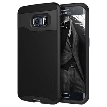 Samsung Galaxy S6 Edge Caseology Wavelength Suojakuori Musta