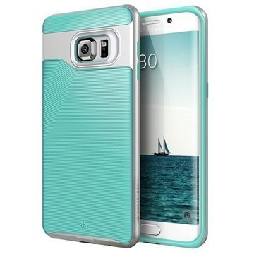 Samsung Galaxy S6 Edge+ Caseology Wavelength Suojakuori Turkoosi / Hopea