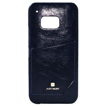 Samsung Galaxy S6 Edge Just Must CHIC-Kokoelman Kotelo Musta