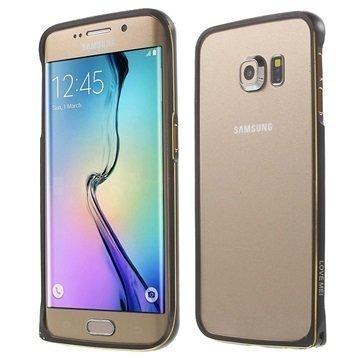 Samsung Galaxy S6 Edge Love Mei Alumiininen Suojakehys Musta