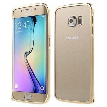 Samsung Galaxy S6 Edge Love Mei Alumiininen Suojakehys Samppanja