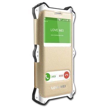 Samsung Galaxy S6 Edge+ Love Mei MK2-Sarja Hybridikotelo Valkoinen