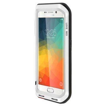 Samsung Galaxy S6 Edge+ Love Mei Powerful Hybrid Suojakuori Hopeinen