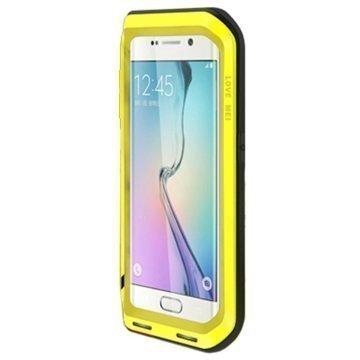 Samsung Galaxy S6 Edge Love Mei Powerful Hybrid Suojakuori Keltainen