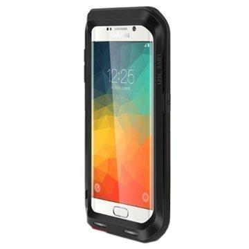 Samsung Galaxy S6 Edge+ Love Mei Powerful Hybrid Suojakuori Musta