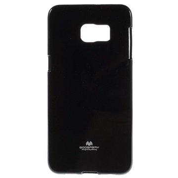Samsung Galaxy S6 Edge+ Mercury Goospery TPU Kotelo Musta