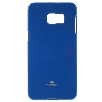 Samsung Galaxy S6 Edge+ Mercury Goospery TPU Kotelo Sininen