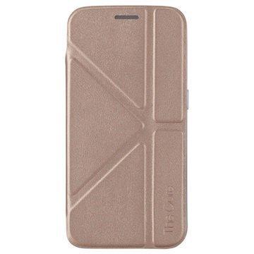 Samsung Galaxy S6 Edge Momax The Core Series Folio Suojakotelo Samppanja