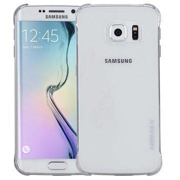 Samsung Galaxy S6 Edge Momax Ultra Thin Series Kova Kotelo Clear Breeze Läpinäkyvä