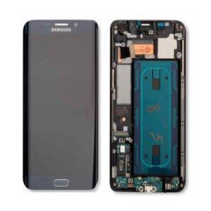 Samsung Galaxy S6 Edge+ Näyttö & Runko Hopea