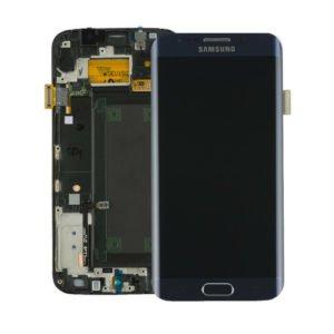 Samsung Galaxy S6 Edge Näyttö & Runko Musta