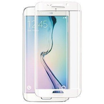 Samsung Galaxy S6 Edge+ Panzer Full-Fit Näytönsuoja Karkaistu Lasi Valkoinen