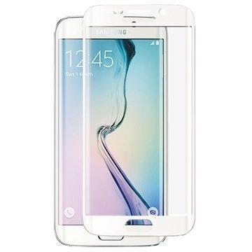 Samsung Galaxy S6 Edge Panzer Full-Fit Näytönsuoja Karkaistu Lasi Valkoinen