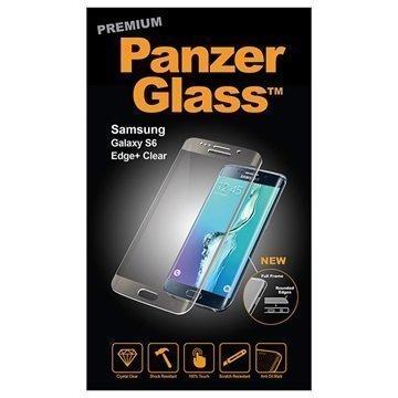 Samsung Galaxy S6 Edge+ PanzerGlass Laadukas Täyden Kehyksen Näytönsuoja Kirkas