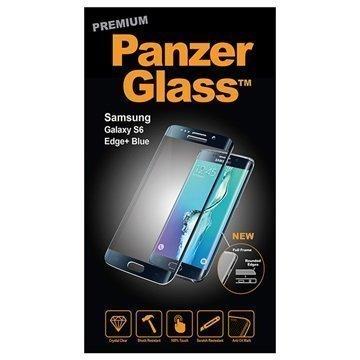 Samsung Galaxy S6 Edge+ PanzerGlass Laadukas Täyden Kehyksen Näytönsuoja Sininen