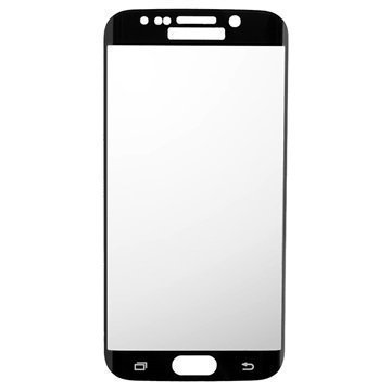 Samsung Galaxy S6 Edge Peter Jäckel Koko Näytön HD Lasi Näytönsuoja Musta