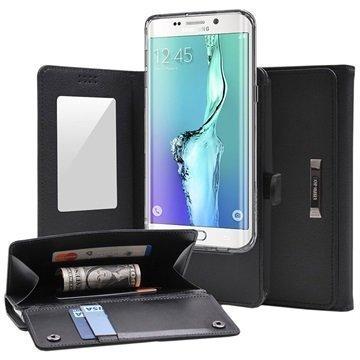Samsung Galaxy S6 Edge Ringke Wallet Case Black