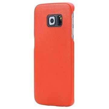 Samsung Galaxy S6 Edge Rock Fashion Sarjan Kovakotelo Oranssi