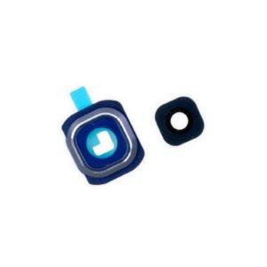 Samsung Galaxy S6 Edge+ Takakameran Kehys + Linssi Valkoinen