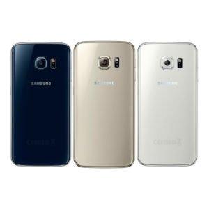 Samsung Galaxy S6 Edge Takakansi Sininen