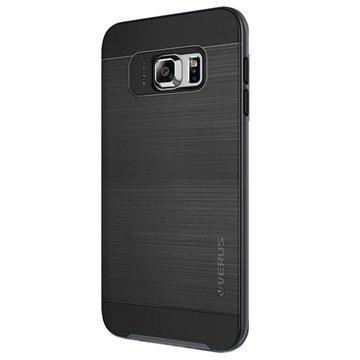Samsung Galaxy S6 Edge+ Verus High Pro Shield Series Kotelo Teräksisen Hopea