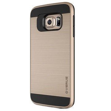 Samsung Galaxy S6 Edge Verus Verge Series Kotelo Hohtava Kulta