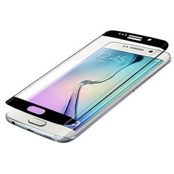 Samsung Galaxy S6 Edge Zagg InvisibleShield Glass Contour Näytönsuoja Musta
