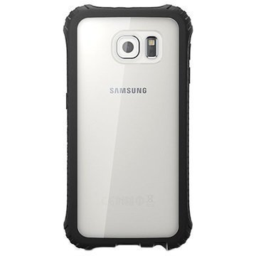 Samsung Galaxy S6 Griffin Survivor Core Kotelo Musta / Kirkas