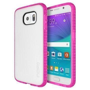 Samsung Galaxy S6 Incipio Octane Kotelo Läpikuultava / Pinkki