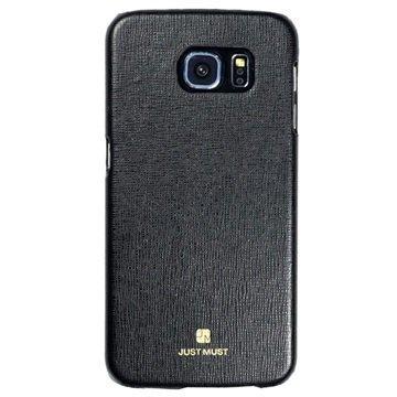 Samsung Galaxy S6 Just Must SU Kovakotelo Musta