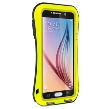 Samsung Galaxy S6 Love Mei Slim Waist Powerful Hybridikotelo Keltainen