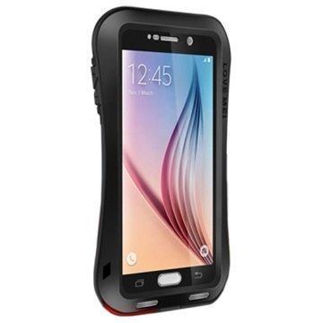 Samsung Galaxy S6 Love Mei Slim Waist Powerful Hybridikotelo Musta