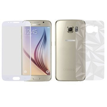 Samsung Galaxy S6 Momax Glass Pro+ Näytönsuojasarja Karkaistu Lasi Valkoinen