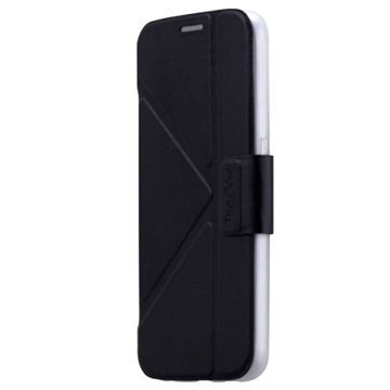 Samsung Galaxy S6 Momax The Core Series Folio Suojakotelo Musta