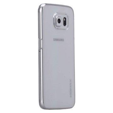 Samsung Galaxy S6 Momax Ultra Thin Series Kova Kotelo Clear Breeze Valkoinen