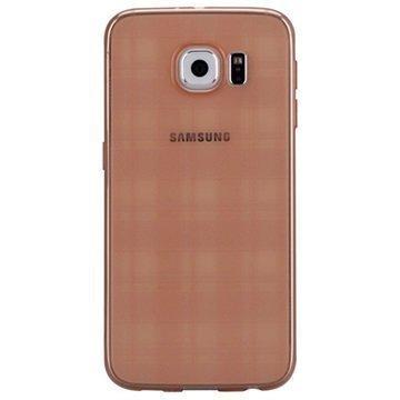 Samsung Galaxy S6 Momax Ultra Thin TPU Suojakuori Kahvi