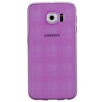 Samsung Galaxy S6 Momax Ultra Thin TPU Suojakuori Pinkki