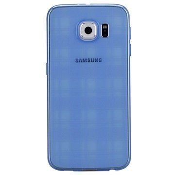 Samsung Galaxy S6 Momax Ultra Thin TPU Suojakuori Sininen