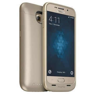 Samsung Galaxy S6 Mophie Juice Pack Akkukotelo Kultainen
