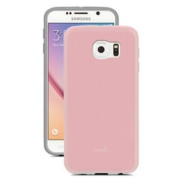 Samsung Galaxy S6 Moshi iGlaze Kotelo Pinkki