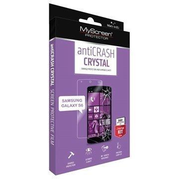 Samsung Galaxy S6 MyScreen AntiCrash Crystal Näytönsuoja