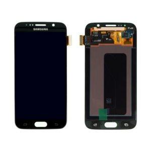 Samsung Galaxy S6 Näyttö Musta