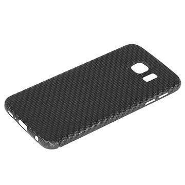 Samsung Galaxy S6 Nevox CarbonSeries Kotelo Musta