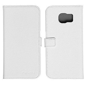 Samsung Galaxy S6 Nevox Ordo Folio Kotelo Valkoinen / Harmaa