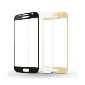 Samsung Galaxy S6 Panssarilasi 2.5d Full Cover Valkoinen
