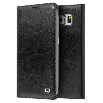 Samsung Galaxy S6 Qialino Wallet Leather Case Black