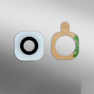 Samsung Galaxy S6 / S6 Edge Takakameran Linssi Valkoinen