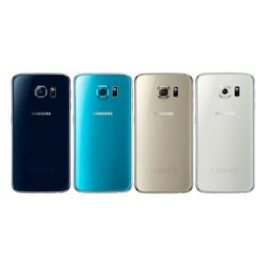 Samsung Galaxy S6 Takakansi Sininen