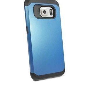 Samsung Galaxy S6 Tuff-luv Armour Kova Suojakotelo Sininen