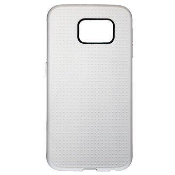 Samsung Galaxy S6 Ureparts Merkur TPU Kotelo Valkoinen